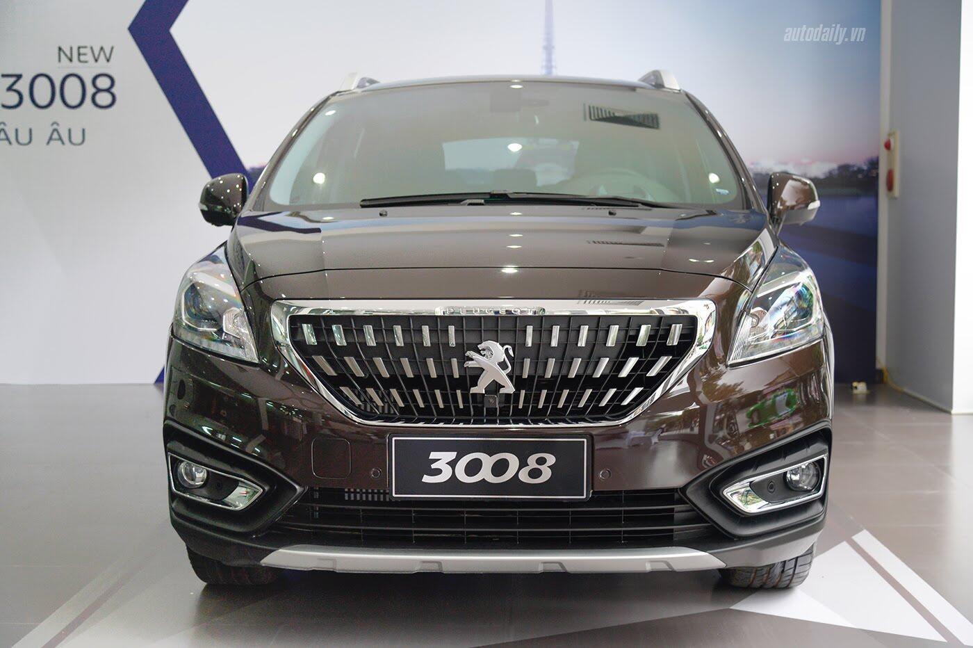 Cận cảnh Peugeot 3008 bản nâng cấp vừa ra mắt tại Việt Nam - Hình 2