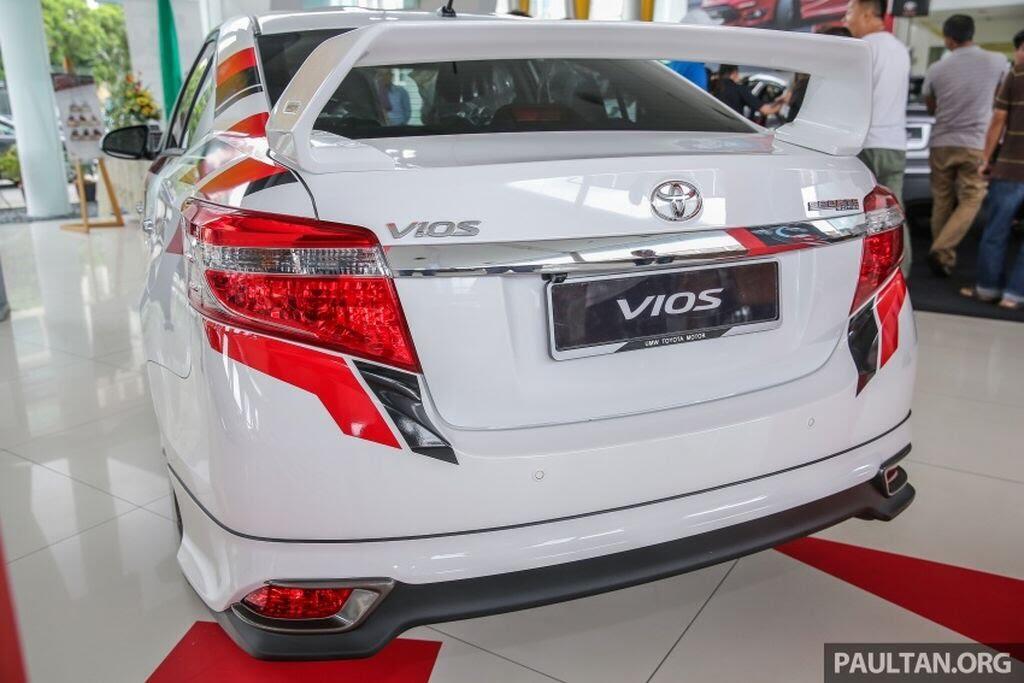 Cận cảnh Toyota Vios Sports Edition mới - thấp hơn, thể thao hơn, cảm giác lái tuyệt hơn - Hình 2
