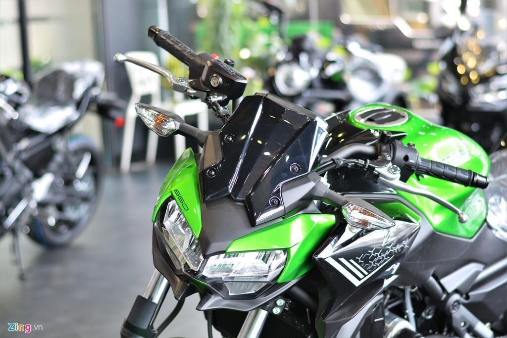 Can nhac nakedbike hang trung - chon Honda CB650R hay Kawasaki Z650 hinh anh 4 2_Z650_zing.jpg