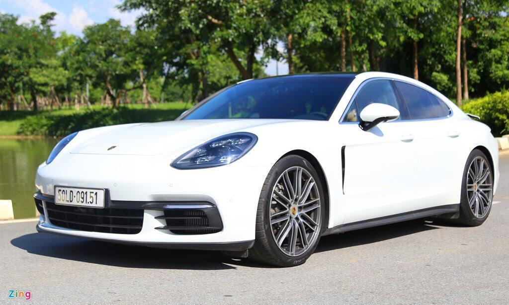 Chất thể thao trong mẫu sedan hạng sang Porsche Panamera 4S 2017 - Hình 1