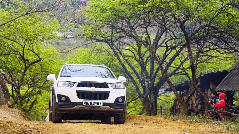 Chevrolet Captiva LTZ 2013 - Lấy lại danh tiếng - Hình 5