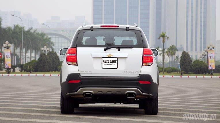 Chevrolet Captiva LTZ 2013 - Lấy lại danh tiếng - Hình 6