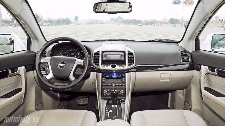 Chevrolet Captiva LTZ 2013 - Lấy lại danh tiếng - Hình 9