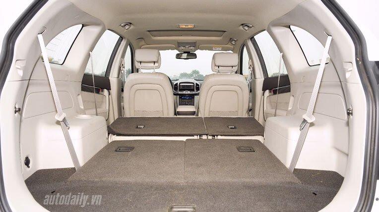 Chevrolet Captiva LTZ 2013 - Lấy lại danh tiếng - Hình 10