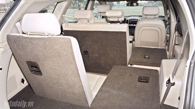 Chevrolet Captiva LTZ 2013 - Lấy lại danh tiếng - Hình 11