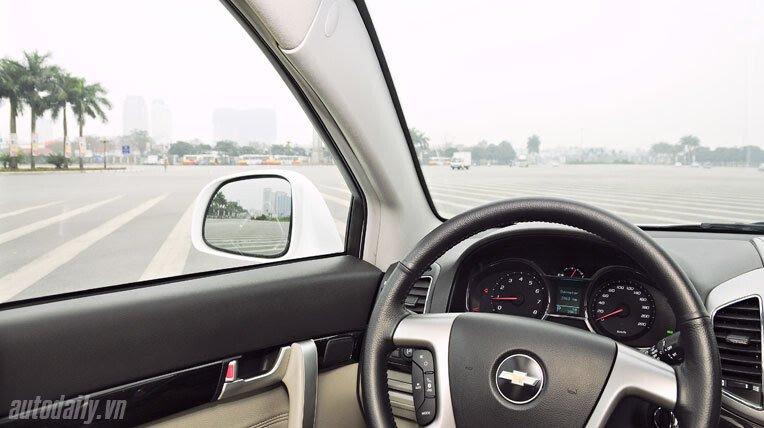 Chevrolet Captiva LTZ 2013 - Lấy lại danh tiếng - Hình 13