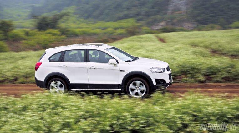 Chevrolet Captiva LTZ 2013 - Lấy lại danh tiếng - Hình 16