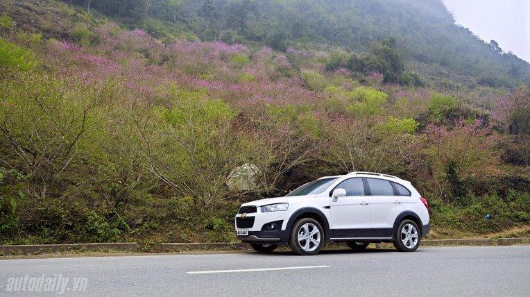 Chevrolet Captiva LTZ 2013 - Lấy lại danh tiếng - Hình 17