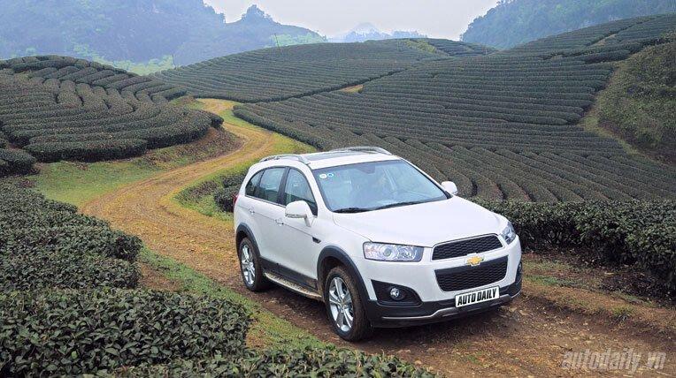 Chevrolet Captiva LTZ 2013 - Lấy lại danh tiếng - Hình 18
