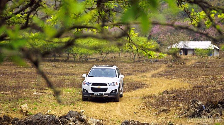 Chevrolet Captiva LTZ 2013 - Lấy lại danh tiếng - Hình 20