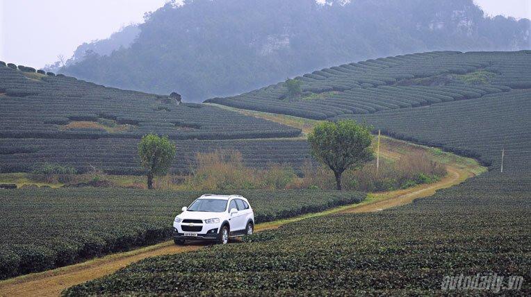 Chevrolet Captiva LTZ 2013 - Lấy lại danh tiếng - Hình 22