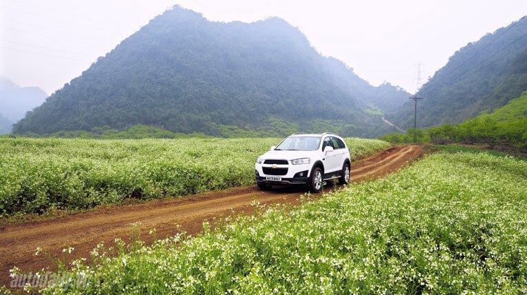 Chevrolet Captiva LTZ 2013 - Lấy lại danh tiếng - Hình 23