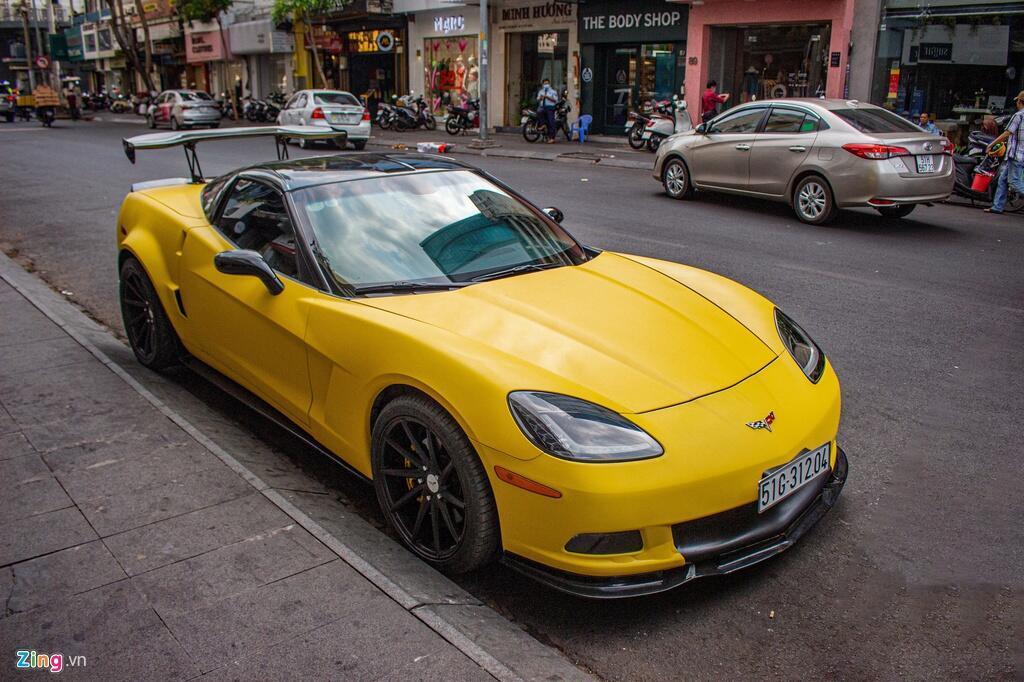 Chevrolet Corvette C6 hang hiem xuat hien tren duong pho TP.HCM hinh anh 1 Chevrolet_Corvette_C6_zing_1_.jpg