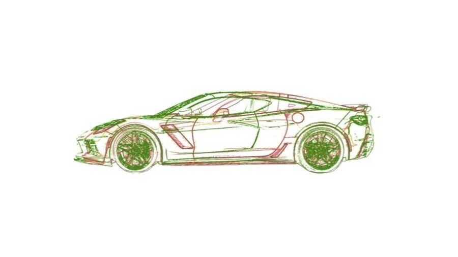 Chevrolet Corvette động cơ đặt giữa sẽ dài hơn, thấp hơn và rộng hơn - Hình 1