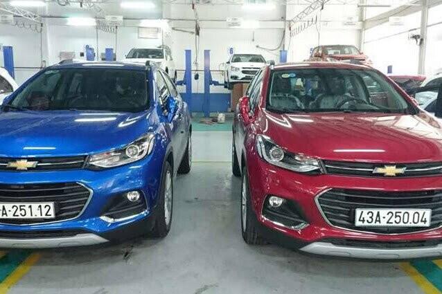 Xưởng dịch vụ của showroom Chevrolet Đà Nẵng.
