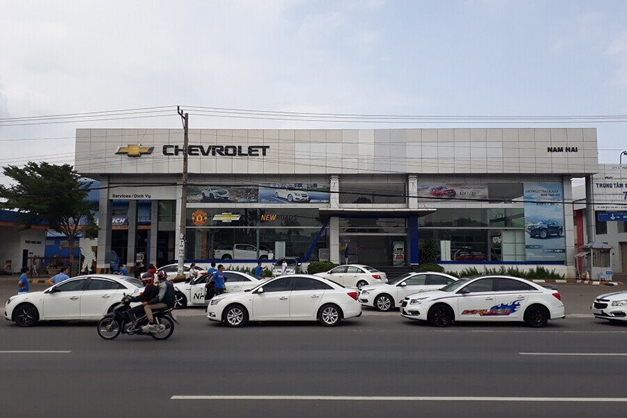 Chevrolet Nam Hải.