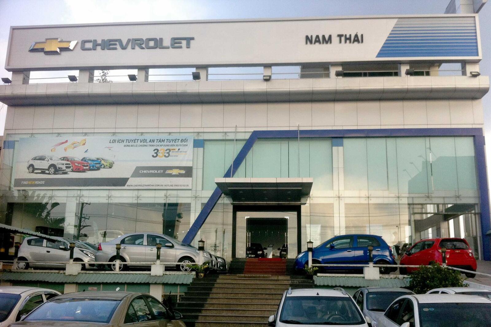 Đại lý Chevrolet Nam Thái