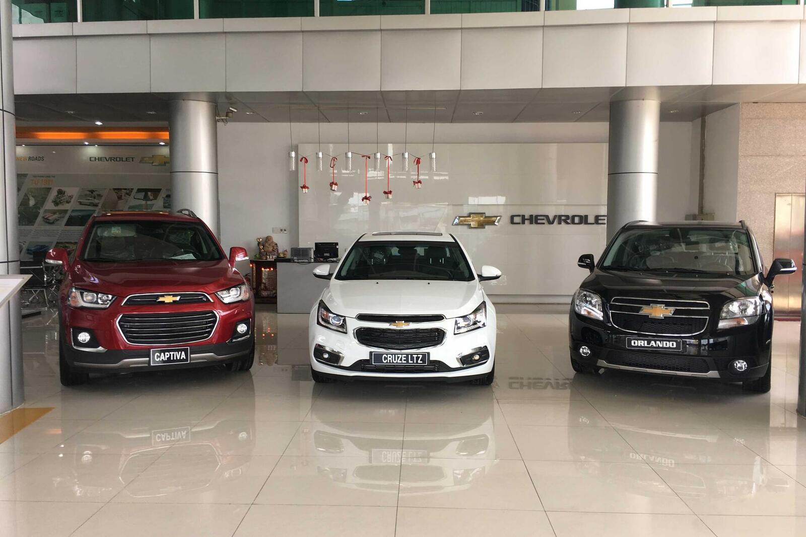 Đại Lý Chevrolet Nam Thái - Huyện Thuận An