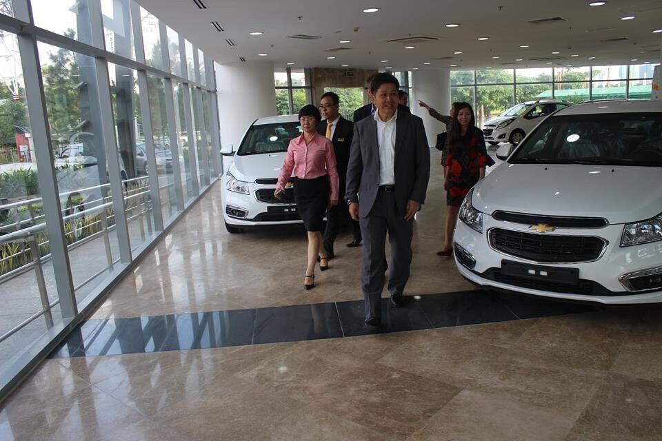 Đại lý Chevrolet Phú Mỹ Hưng.