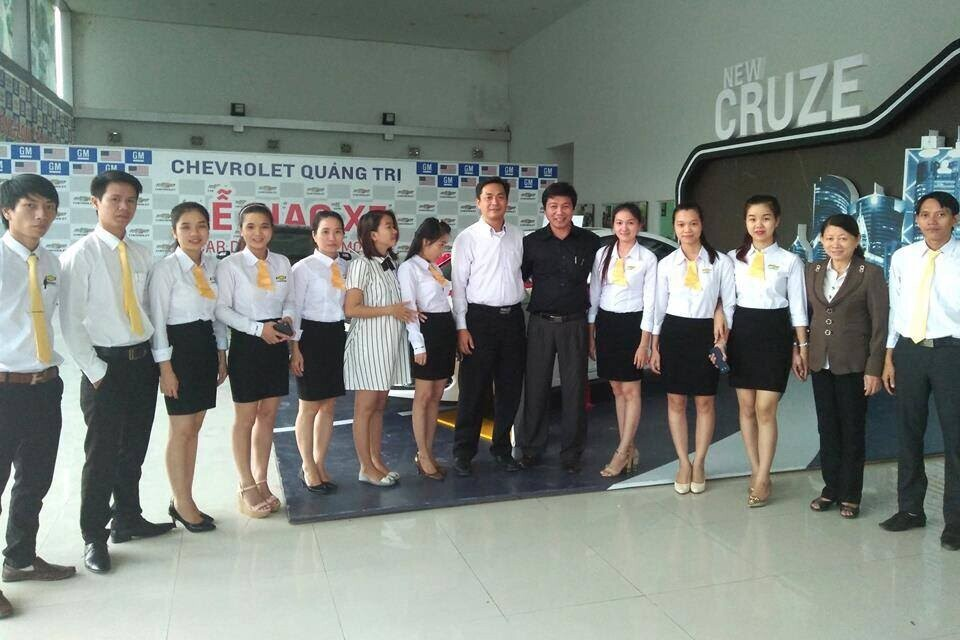 Showroom Chevrolet Quảng Trị.