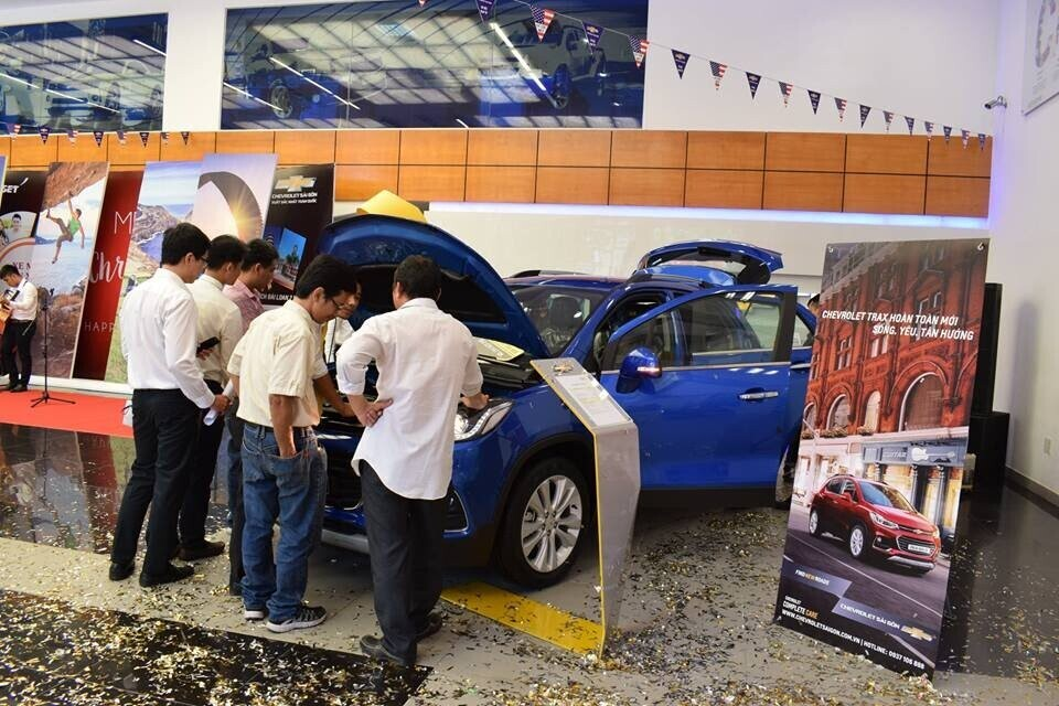 Chevrolet Sài Gòn.