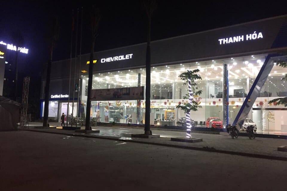 Chevrolet Thanh Hóa là đại lý ủy quyền của Ganeral Motors Việt Nam (GMV).