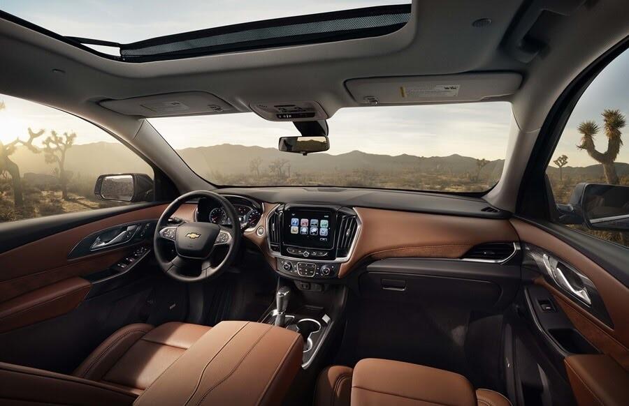 Chevrolet Traverse 2018 có giá từ 30.875 USD - Hình 6