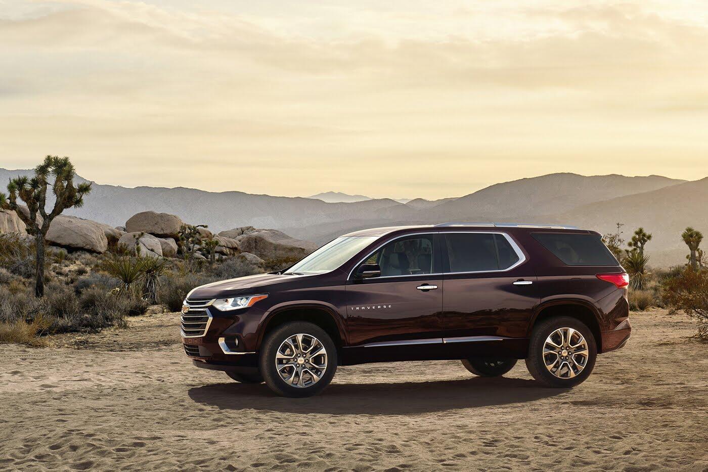Chevrolet Traverse 2018 - Đối thủ Ford Explorer trình làng - Hình 1
