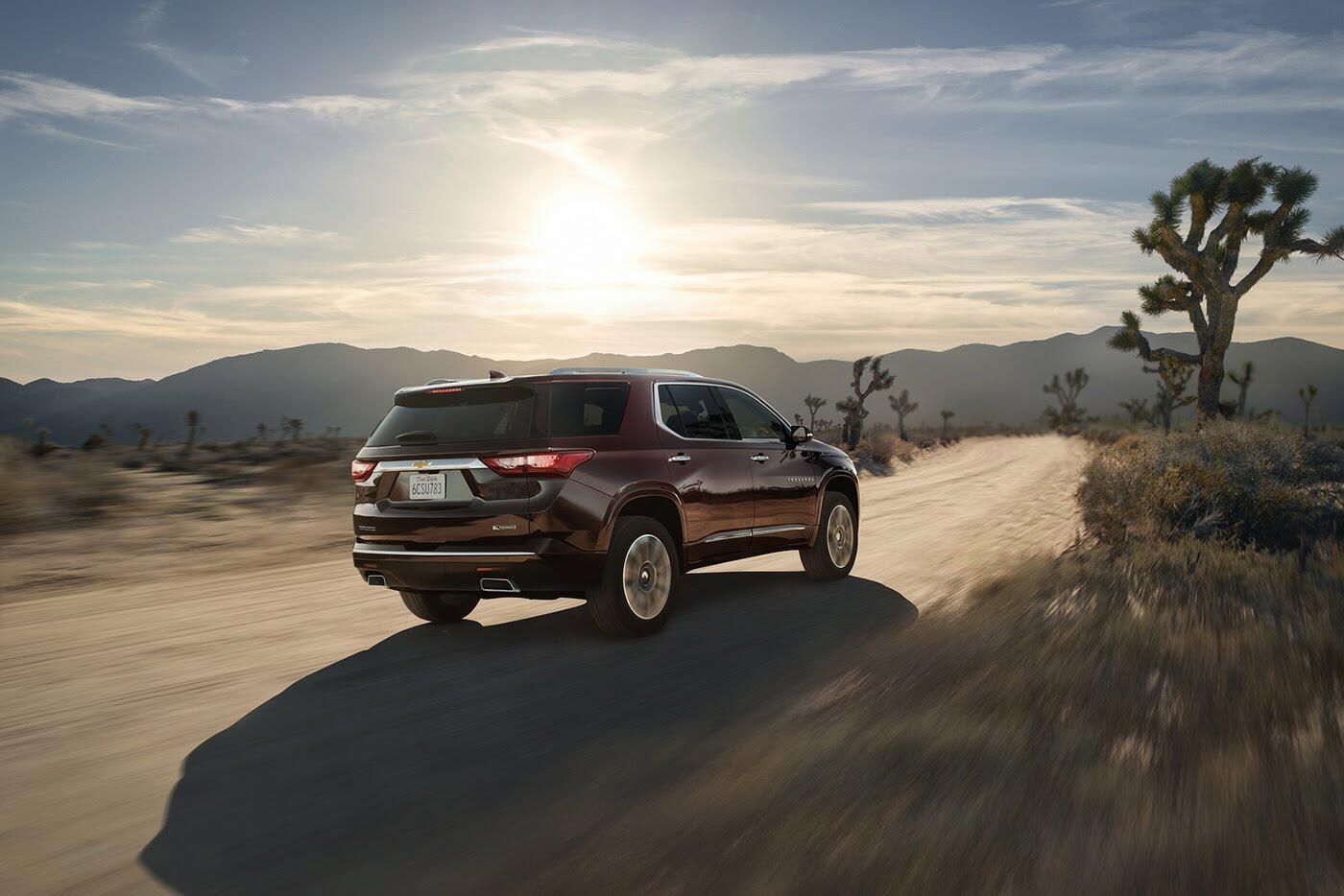 Chevrolet Traverse 2018 - Đối thủ Ford Explorer trình làng - Hình 3