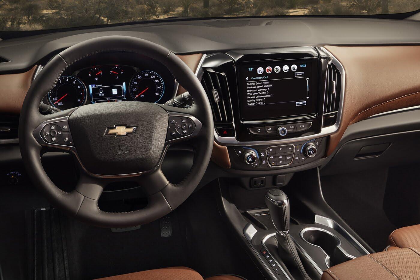 Chevrolet Traverse 2018 - Đối thủ Ford Explorer trình làng - Hình 7