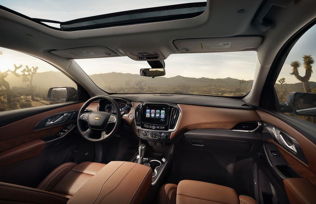Chevrolet Traverse 2018 sẽ nhận được nhiều công nghệ và tiện ích mới - Hình 3