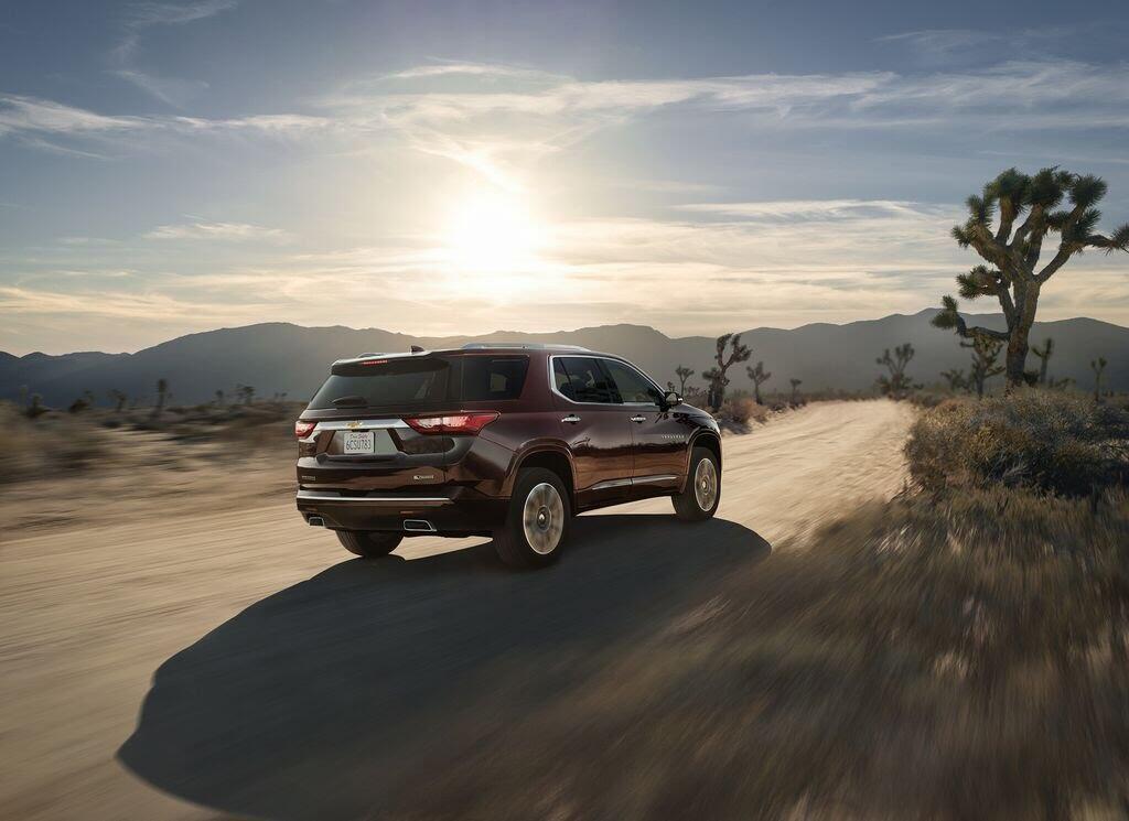 Chevrolet Traverse 2018 sẽ nhận được nhiều công nghệ và tiện ích mới - Hình 5