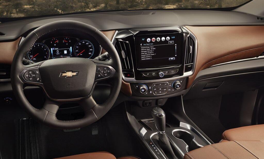 Chevrolet Traverse 2018 sẽ nhận được nhiều công nghệ và tiện ích mới - Hình 6