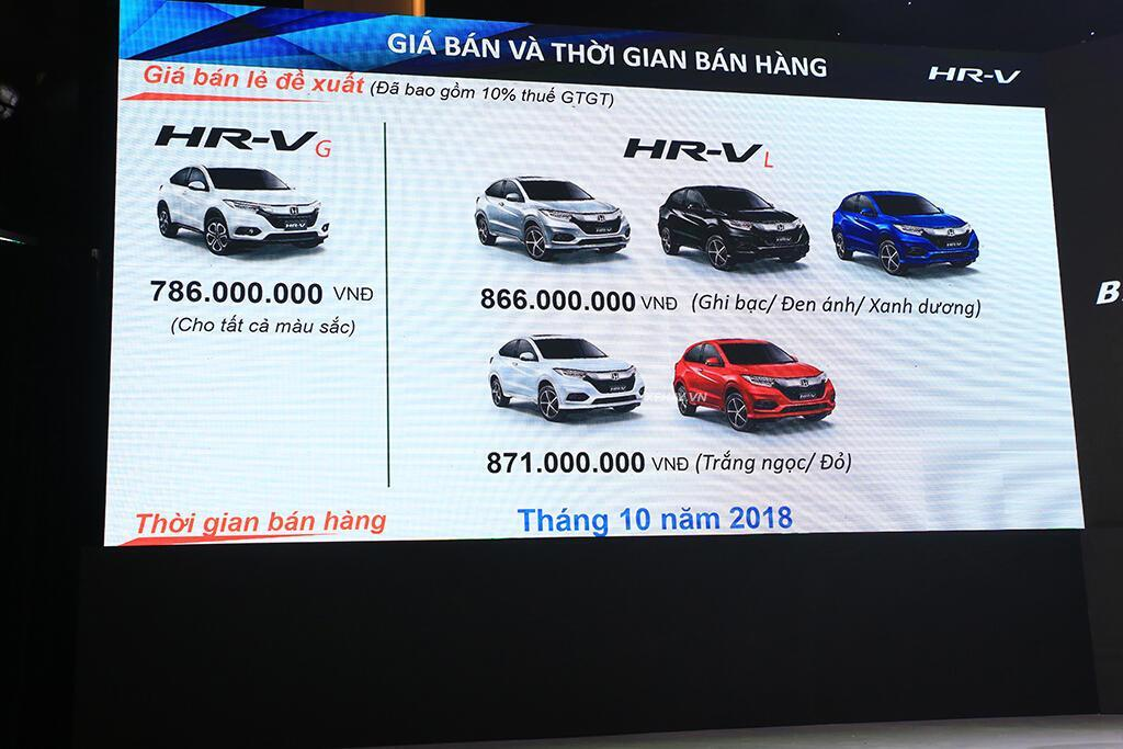 Chi tiết Honda HR-V 2019 vừa ra mắt Việt Nam, giá từ 786 triệu đồng - Hình 9