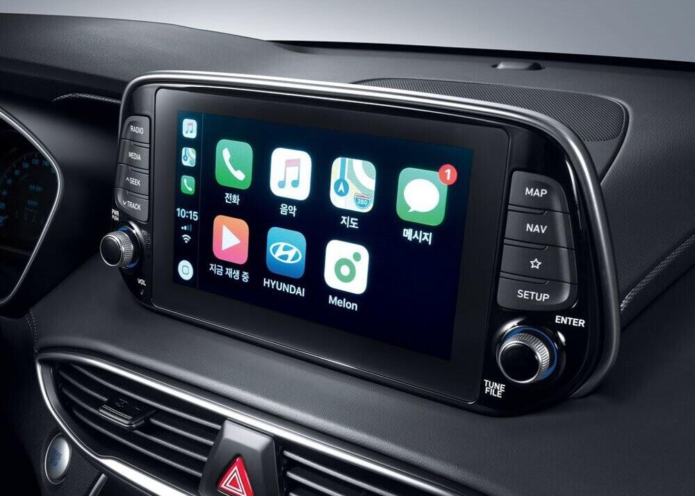 Chi tiết Hyundai Santa Fe 2019 - hiện đại và an toàn hơn - Hình 12