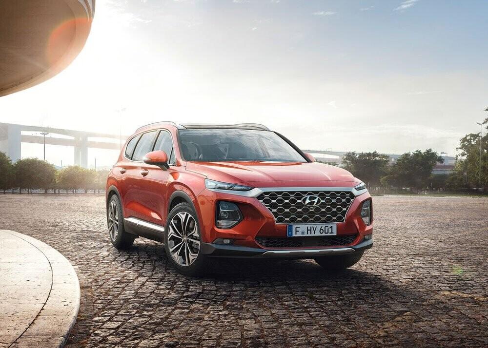 Chi tiết Hyundai Santa Fe 2019 - hiện đại và an toàn hơn - Hình 7