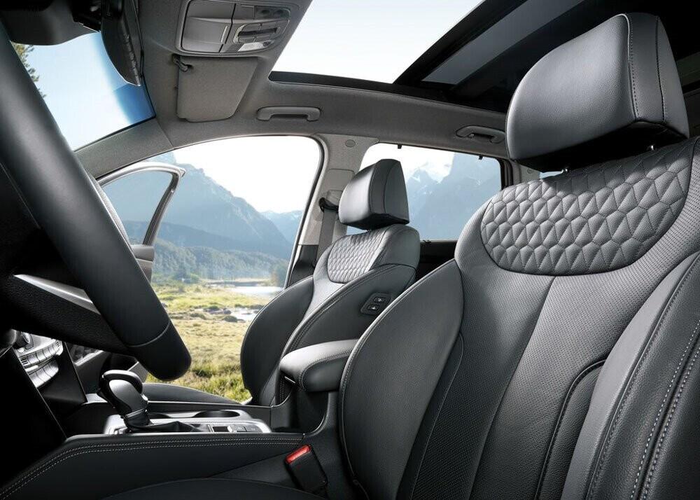 Chi tiết Hyundai Santa Fe 2019 - hiện đại và an toàn hơn - Hình 8