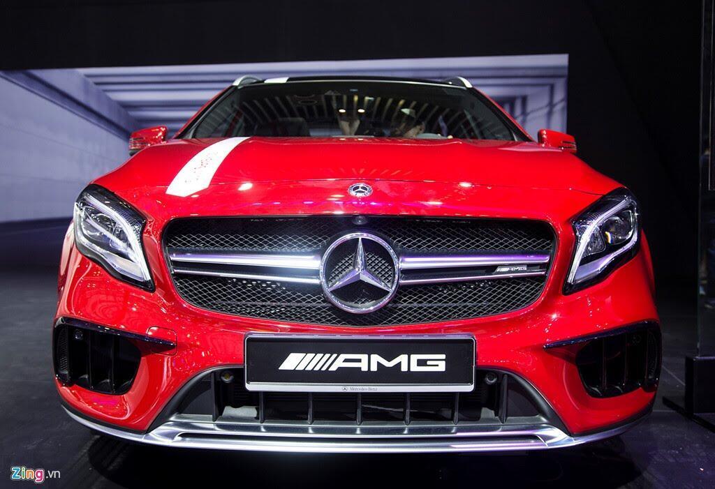 Chi tiết Mercedes GLA 45 AMG giá 2,4 tỷ vừa ra mắt tại VN - Hình 1