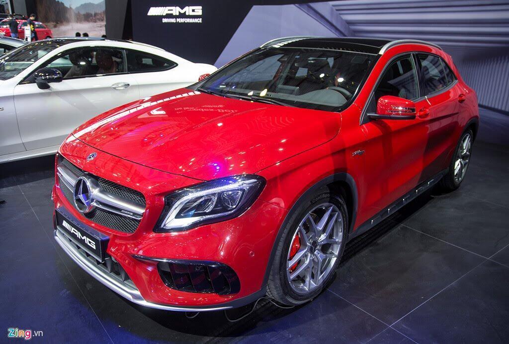 Chi tiết Mercedes GLA 45 AMG giá 2,4 tỷ vừa ra mắt tại VN - Hình 2