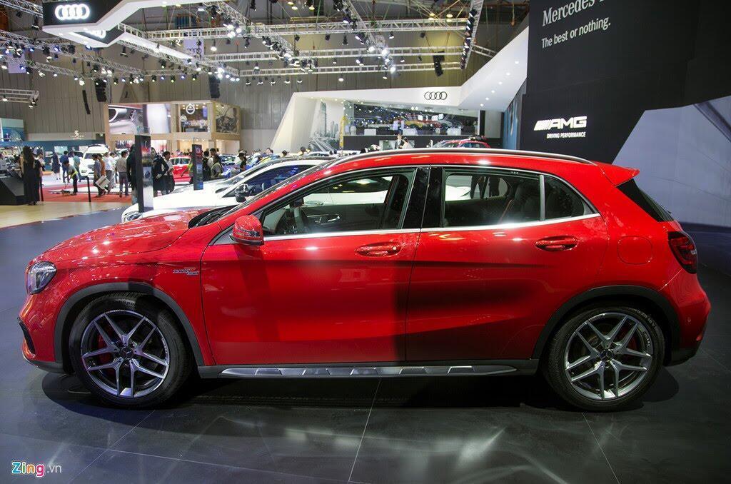 Chi tiết Mercedes GLA 45 AMG giá 2,4 tỷ vừa ra mắt tại VN - Hình 3
