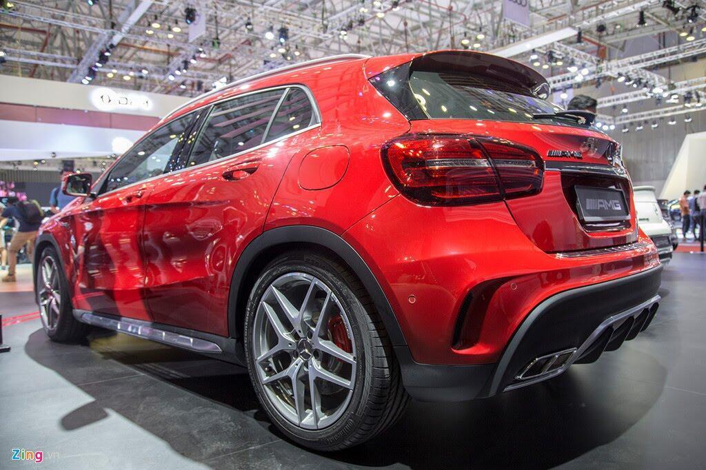 Chi tiết Mercedes GLA 45 AMG giá 2,4 tỷ vừa ra mắt tại VN - Hình 4