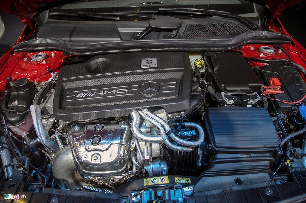 Chi tiết Mercedes GLA 45 AMG giá 2,4 tỷ vừa ra mắt tại VN - Hình 5