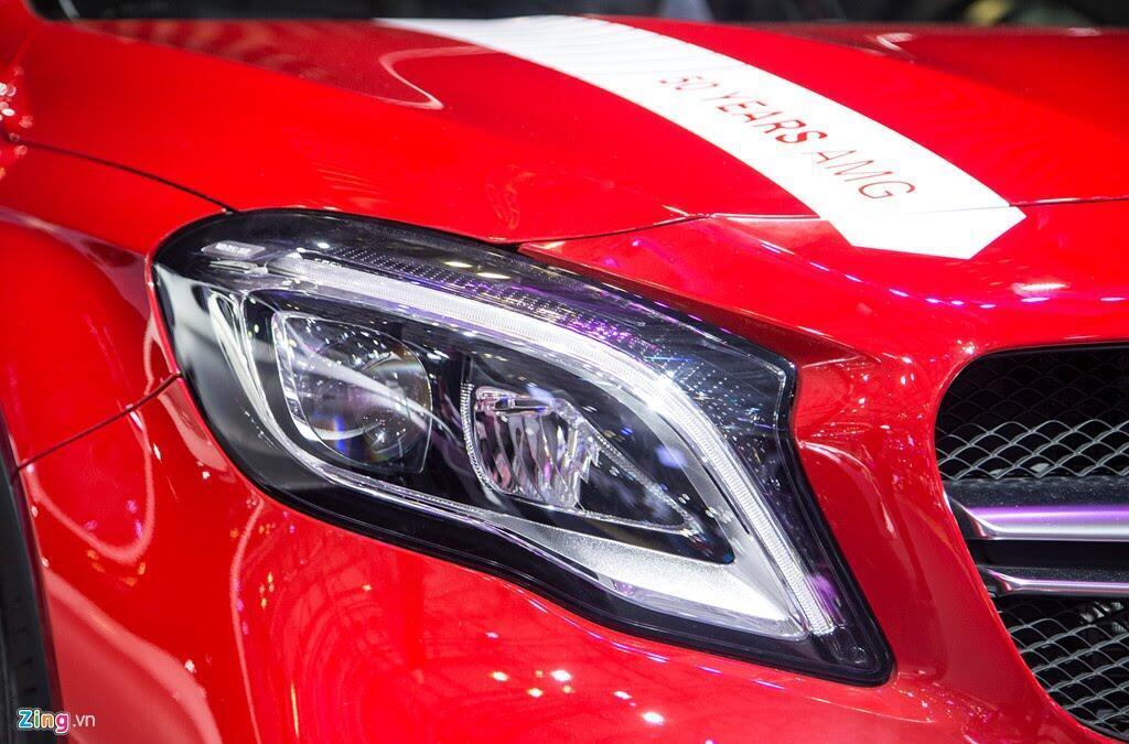 Chi tiết Mercedes GLA 45 AMG giá 2,4 tỷ vừa ra mắt tại VN - Hình 6
