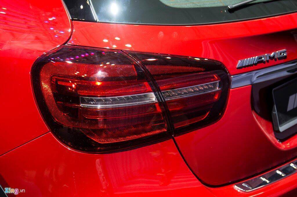 Chi tiết Mercedes GLA 45 AMG giá 2,4 tỷ vừa ra mắt tại VN - Hình 7