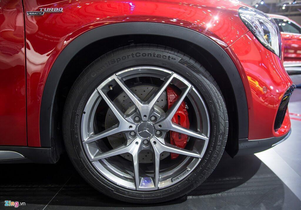 Chi tiết Mercedes GLA 45 AMG giá 2,4 tỷ vừa ra mắt tại VN - Hình 9