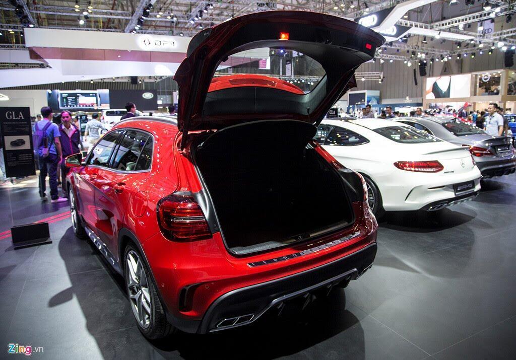Chi tiết Mercedes GLA 45 AMG giá 2,4 tỷ vừa ra mắt tại VN - Hình 14