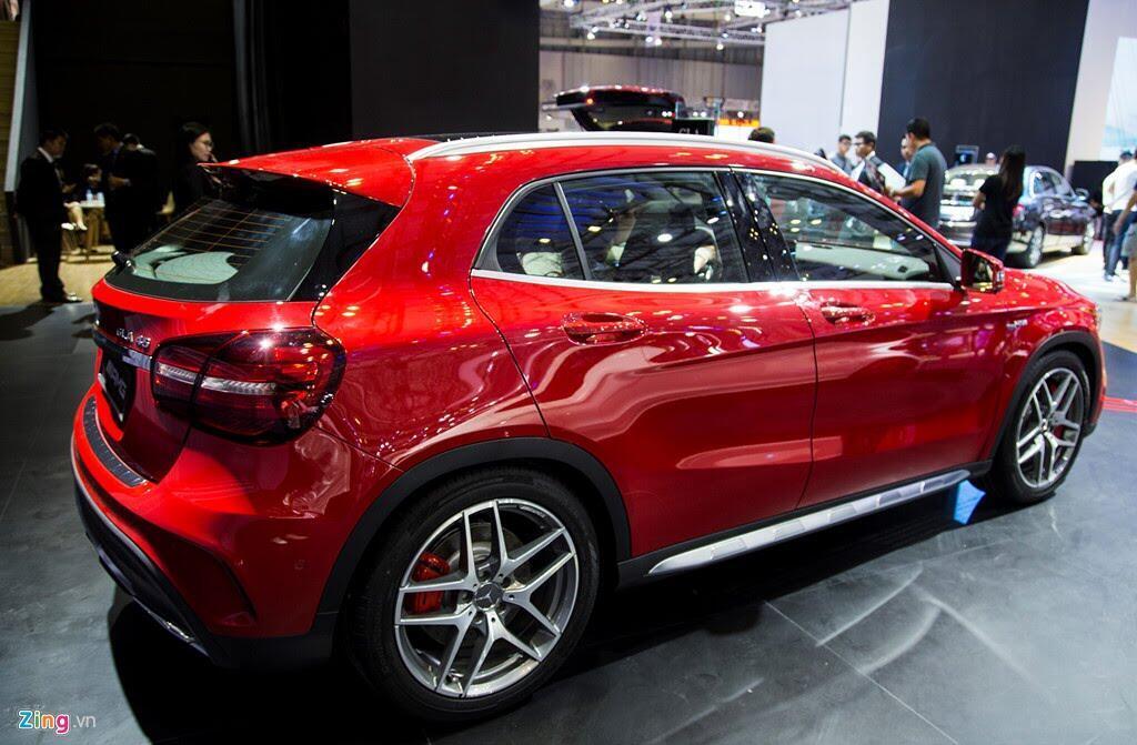 Chi tiết Mercedes GLA 45 AMG giá 2,4 tỷ vừa ra mắt tại VN - Hình 15