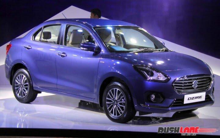Chi tiết Suzuki Swift Sedan 2017 vừa ra mắt - Hình 1