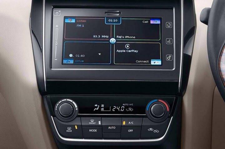 Chi tiết Suzuki Swift Sedan 2017 vừa ra mắt - Hình 10