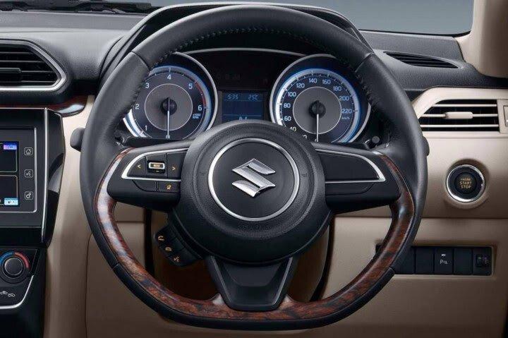 Chi tiết Suzuki Swift Sedan 2017 vừa ra mắt - Hình 11